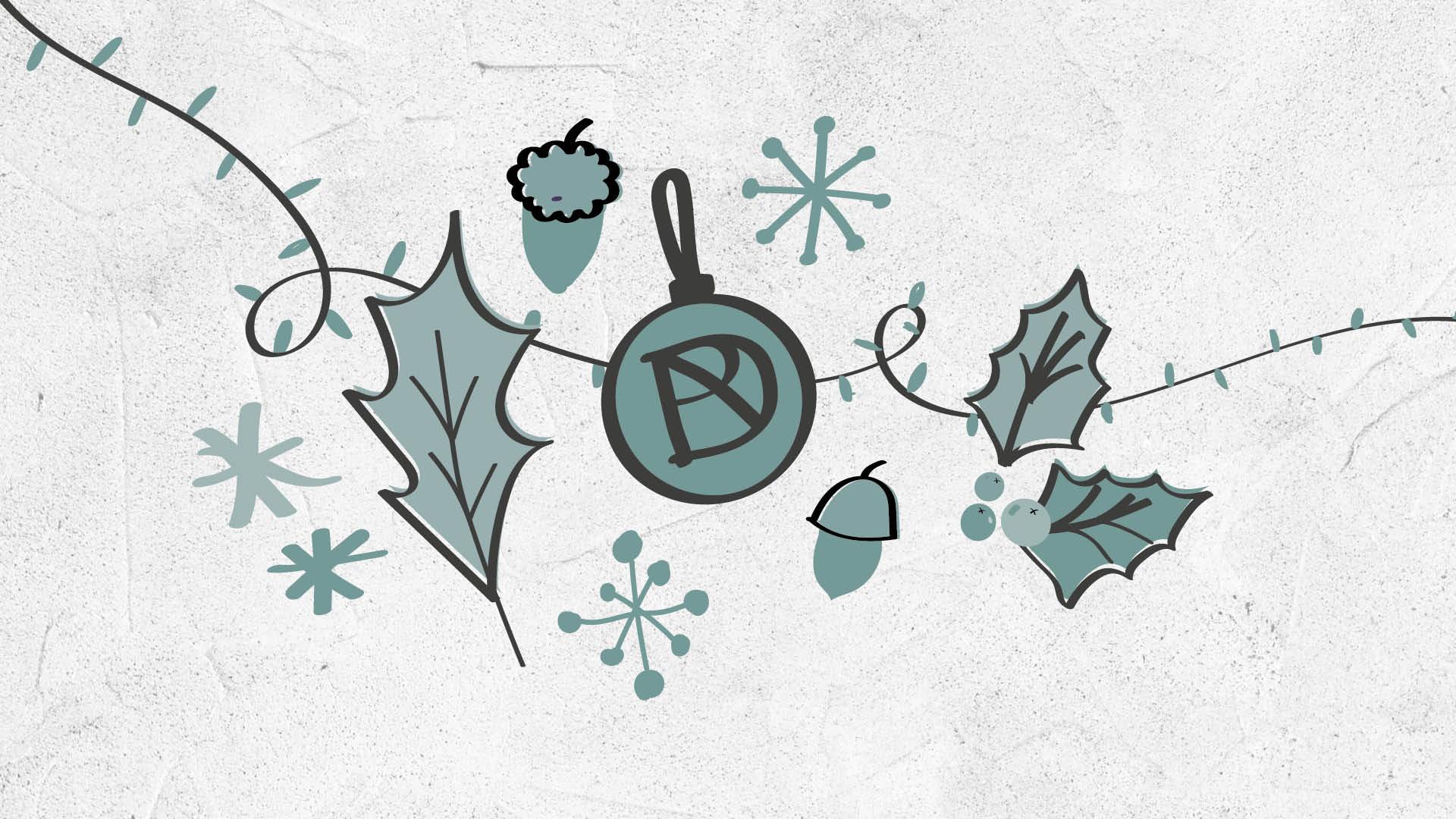 Christmas 2020 Banner Dalmeny